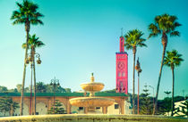 Die prachtvolle Moschee des Sidi Bou Abid by Gina Koch