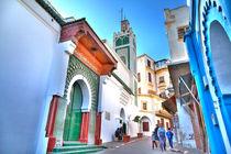 """Die prachtvolle """"Große Moschee"""" im Herzen der Medina von Tanger by Gina Koch"""