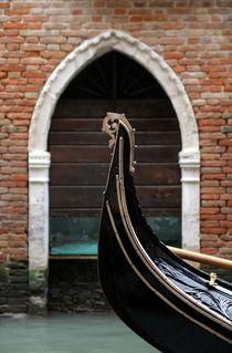 Venezianische Gondel by Bruno Schmidiger