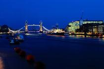 London at night by Nicole Rainbow