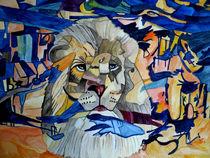 Silver Lion  by Vera Boldt