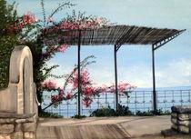 Amalfi Glimpse von Susanna Lamy