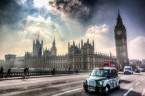 Westminster Bridge London by David Pyatt