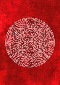 THE RED LABYRINTH von THE USUAL DESIGNERS