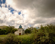 Old church in mountains by Claudia Botterweg