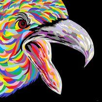 Formidable Eagle by eloiseart