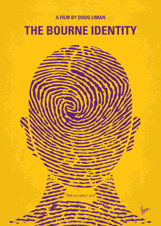 No439-my-the-bourne-identity-minimal-movie-poster
