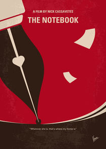 No440 My The Notebook minimal movie poster by chungkong