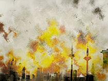Skyline of Frankfurt by Gabi Hampe