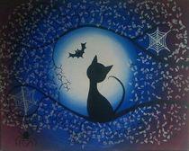 Cat, Bat and Spider by Samantha Lyon