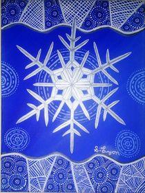 Frozen Snowflake by Samantha Lyon