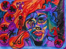 the idea of Jimi Hendrix by Vera Boldt