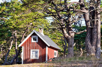 lonely summerhouse - sommarstuga von Thomas Matzl