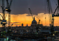 London Cityscape Sunset von Graham Prentice