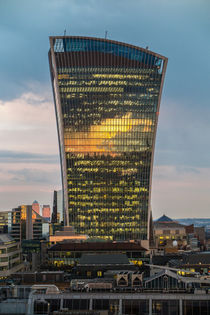 Walkie Talkie Sunset, London by Graham Prentice