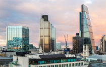 City of London Evening Skyline von Graham Prentice