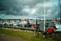 Im Hafen Barhöft von Sabine Radtke