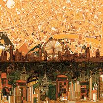 london skyline abstract 2 von bekimart
