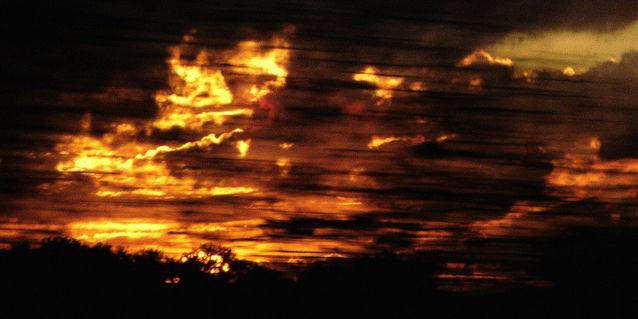 Abendsonnepanodruck