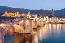 city lights heidelberg von Pascal Megnin