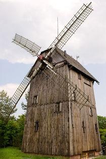 One old wood windmill  by Arletta Cwalina