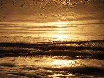 Goldenes Wasser von Ute Bauduin