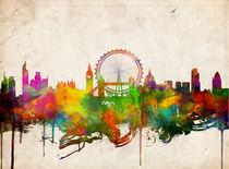 london skyline ,london, england by bekimart