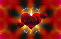 Love ist all by Karin Nessika