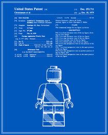 Lego Man Patent- Blueprint (v1) von Finlay McNevin