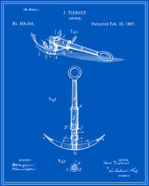 Anchor Patent - Blueprint by Finlay McNevin