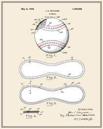 Baseball Patent - Colour von Finlay McNevin