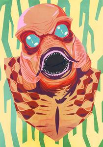 Monsters - Black Lagoon by Mark Venter