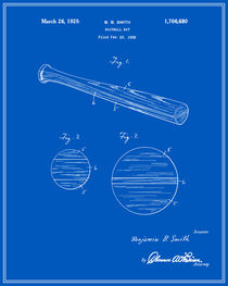 Baseball-bat-patent-blueprint