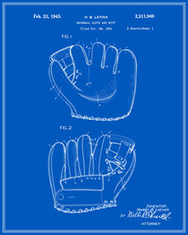 Baseball-glove-patent-blueprint