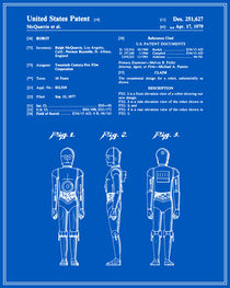 C3P0 Patent - Blueprint von Finlay McNevin