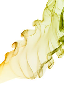 curled and twisted smoke abstract von Arletta Cwalina
