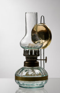 retro style glass decorative oil lamp von Arletta Cwalina