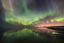 Aurora's over seaside city II von Mati  Kose