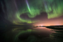 Aurora's over seaside city III von Mati  Kose