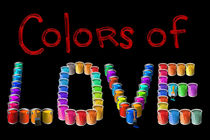 Colors of Love by Peter  Awax