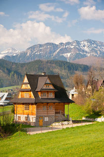 village in Tatra Country von Arletta Cwalina