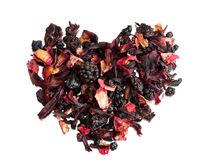 petals tea formed in heart shape by Arletta Cwalina
