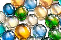 Glass balls marbles abstract  von Arletta Cwalina