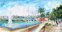 Palma De Mallorca Panoramic 01 by Miki de Goodaboom
