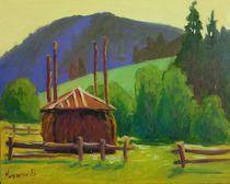 Stack has a Slavskoe, Carpathians by Vasiliy Nikitin