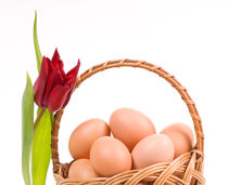 Easter baskets on Holy Saturday von Arletta Cwalina