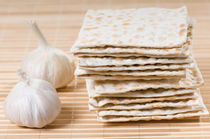 Stack of dry matza by Arletta Cwalina
