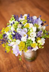 Bridal freesia bouquet wedding flowers von Arletta Cwalina
