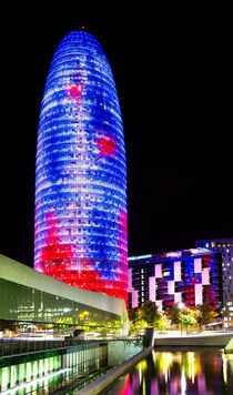 Agbar Tower (Barcelona, Catalonia) von Marc Garrido Clotet