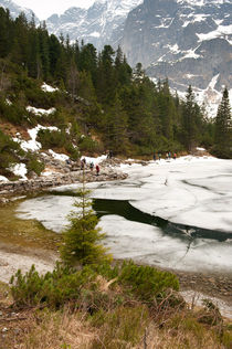 Tourists trek around Morskie Oko by Arletta Cwalina